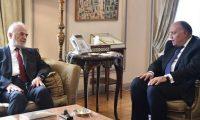 الجعفري وشكري يتفقان على تعزيز التعاون بين العراق ومصر