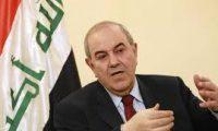 علاوي: لن يستقر العراق بدون إنتصار سياسي
