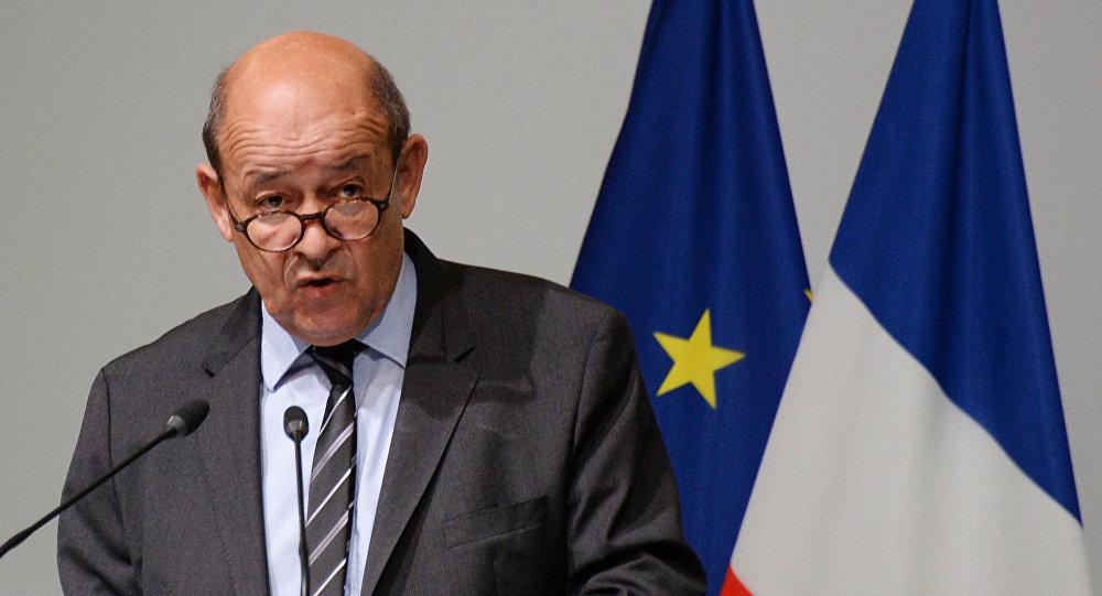 لودريان وزيراً للخارجية الفرنسية