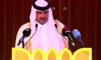 أمير قطر يدافع عن إيران ومشروعها الخبيث في المنطقة