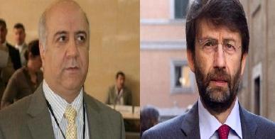 وزير الثقافة الايطالي يسلم نظيره العراقي تقريراً عن الآثار المدمرة