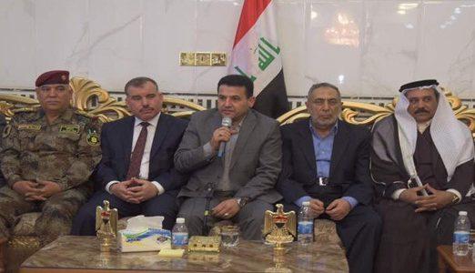 وزير الداخلية يثمن عشائر الطارمية في محاربتها للإرهاب