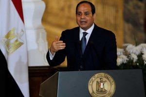 السيسي:يجب معاقبة الدول التي تدعم الإرهاب دون مجاملة أو مصالحة
