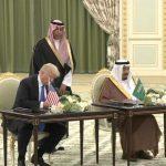 الملك سلمان وترامب يوقعان على الرؤية الإستراتيجية السعودية الأميركية