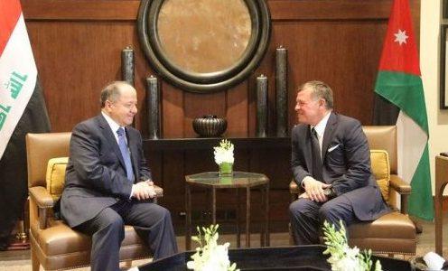 العاهل الأردني يؤكد على تحقيق المصالحة الوطنية في العراق
