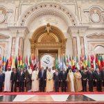 إعلان الرياض:محاربة الإرهاب والتطرف وعزل إيران وتشكيل قوة عسكرية وتحقيق السلم والأمن في المنطقة والعالم