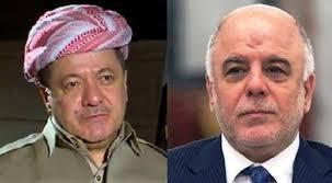 """البرزاني:العبادي موقفه """"ايجابياً"""" من استفتاء كردستان"""