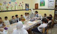 مشروع ( تعال نكتب في بغداد ) لتنمية طلبة المدارس الابتدائية
