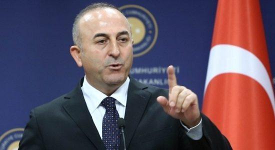 """أوغلو:استفتاء كردستان """"خطوة تصعيدية"""""""