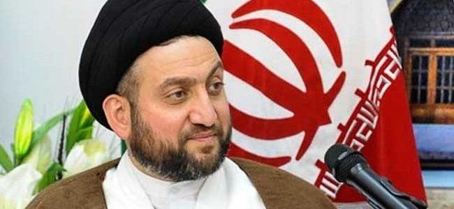 """الحكيم: الحشد الشعبي """"ضرورة سياسية ونثمن الدور الإيراني في دعمه""""!"""