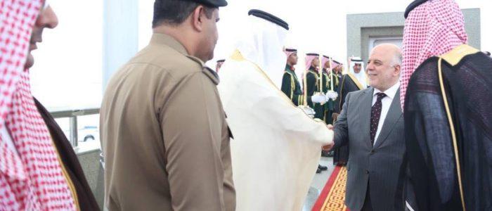 العبادي يصل الرياض
