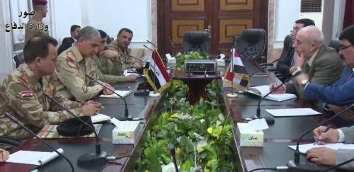 العراق وسوريا يؤكدان على تعزيز التعاون العسكري والأمني بين البلدين