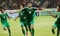 فوز المنتخب العراقي على نظيره السوري