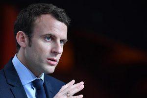 ماكرون:الاسد ليس عدواً لفرنسا