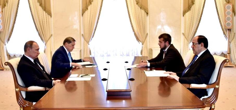 حلم الولاية الثالثة..المالكي وبدعم إيراني يطالب بتواجد روسي عسكري في العراق!