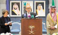 الجبير:الرياض ستقدم لباريس ملفا كاملا عن دعم قطر للإرهاب