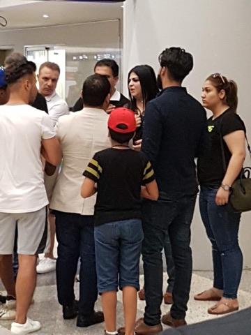 مشاجرة مع النائب التميمي في مطار بيروت