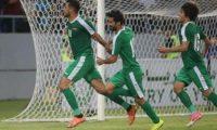 فوز المنتخب الأولمبي العراقي على نظيره الأفغاني
