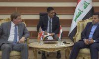 الاعرجي وبيكر يبحثان تعزيز التعاون الأمني بين العراق وبريطانيا