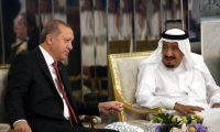 سلمان وأردوغان يبحثان الأزمة مع قطر