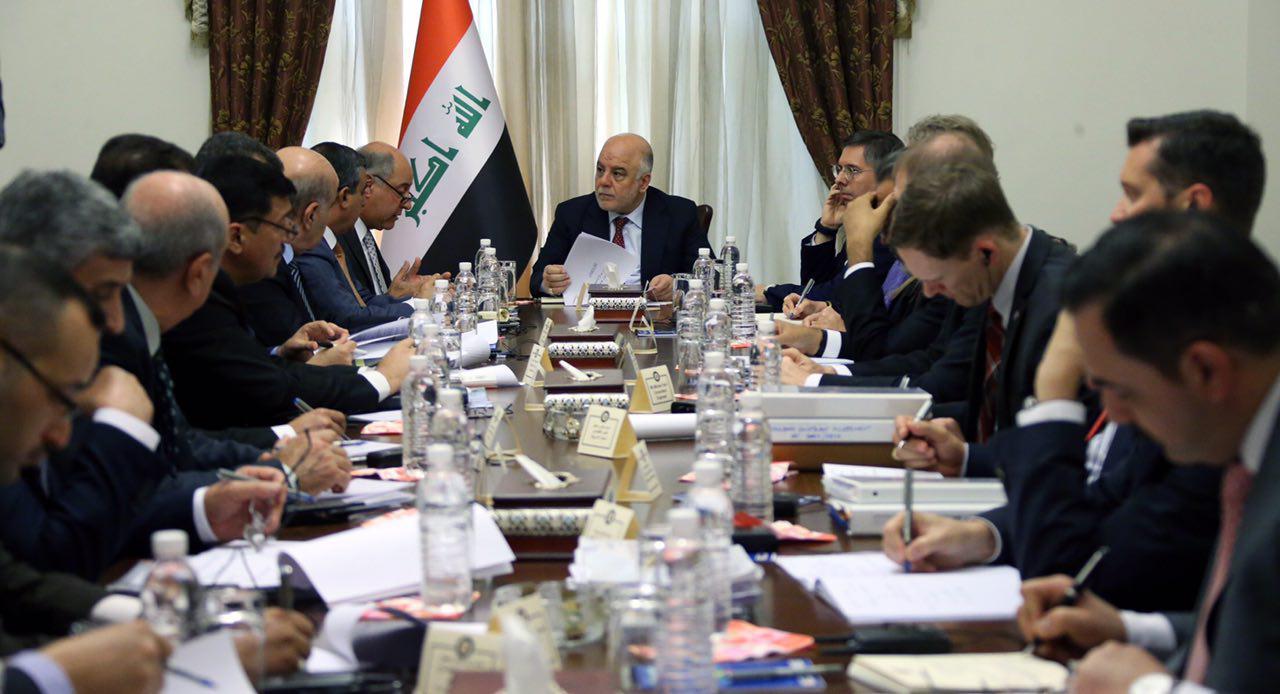 العبادي يوجه بإدامة عمليات إصلاح سد الموصل