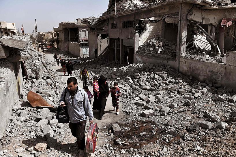 مجلس نينوى:85% نسبة الدمار في أيمن الموصل