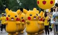 جنون في مهرجان البوكيمون