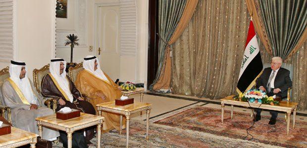 البحرين تؤكد على تعزيز علاقاتها مع العراق