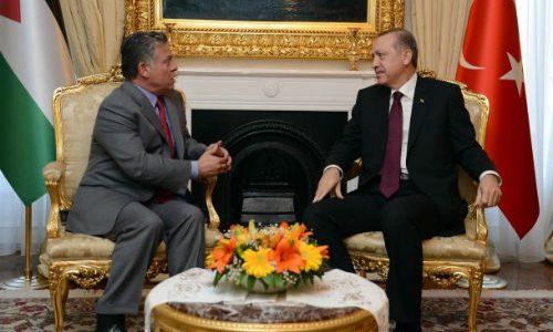 ألاثنين المقبل..أردوغان في عّمان لبحث سبل تعزيز الاستقرار في المنطقة