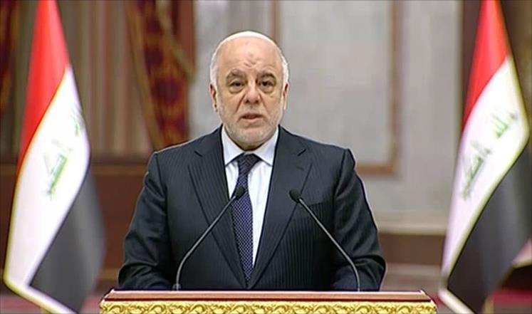 """العبادي:ديون العراق في موضع """"آمن"""" والحشد سيتحول إلى جهد هندسي للأعمار"""