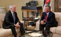 العاهل الأردني وماتيس يؤكدان على تعزيز التعاون العسكري ومكافحة الإرهاب