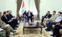 ماتيس للعبادي:بلادي تؤكد على تعزيز وحدة العراق وتحقيق استقراره