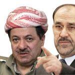 البرزاني:المالكي دمار العراق