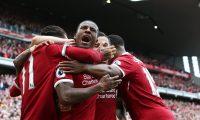 فوز ليفربول في الدوري الإنكليزي الممتاز