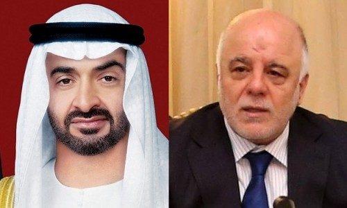 العبادي يتسلم رسالة من الشيخ محمد بن زايد لتطوير العلاقات بين العراق والإمارات