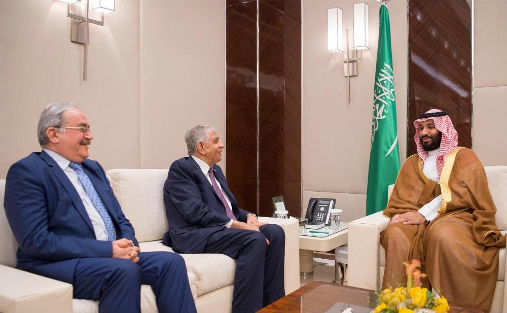 بن سلمان يؤكد حرص السعودية على استقرار العراق وتنمية العلاقات