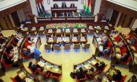 السبت المقبل الجلسة الثانية لبرلمان كردستان