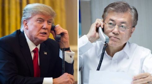 واشنطن وسيئول تؤكدان على زيادة فرض العقوبات على كوريا الشمالية