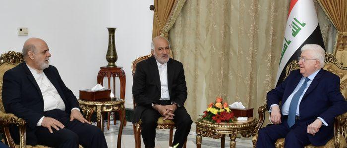 """معصوم:بدون إيران العراق """"يموت""""!!"""