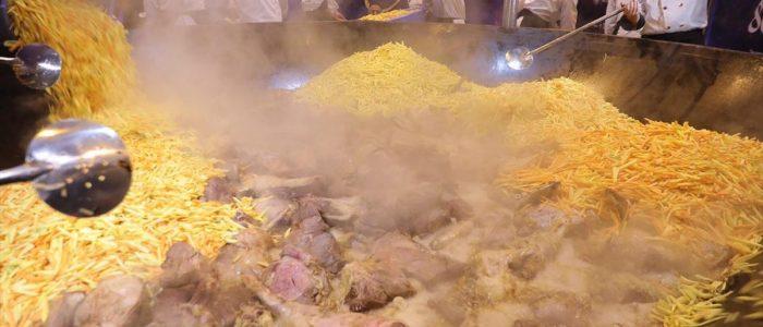 طبق شعبي أوزبكي يدخل غينيس