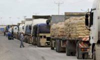 الاردن: إعفاء الشاحنات العراقية المتوقفة على الجانب الأردني من الغرامات المالية