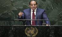 """السيسي يدعو الفلسطينيين إلى """"التعايش السلمي مع إسرائيل"""""""