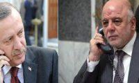 أردوغان يؤكد للعبادي هاتفياً حرص تركيا على وحدة الأراضي العراقية