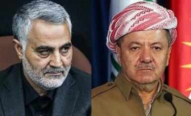 """مصدر:سليماني في كردستان والاستفتاء لن يشمل المناطق """"المتنازع عليها"""""""