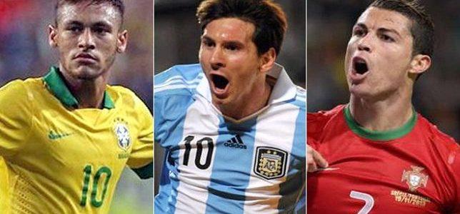 الفيفا:رونالدو وميسي وسيلفا أفضل اللاعبين في العالم