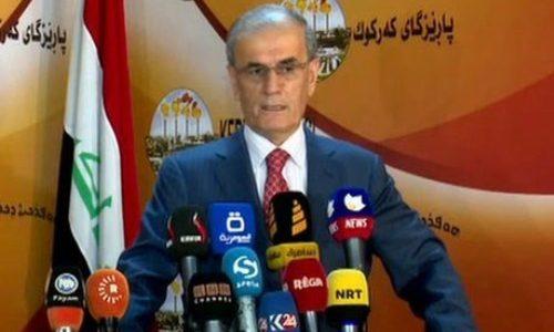 محافظ كركوك سنتفاوض مع بغداد حول الاستقلال!