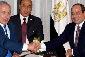 """السيسي ونتياهو يبحثان """"السلام"""" الفلسطيني الإسرائيلي"""