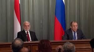لافرورف:روسيا تحترم وتدعم وحدة العراق وسلامة أراضيه
