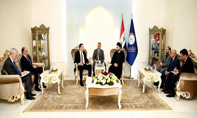 ماكغورك:بلادي داعمة لوحدة العراق