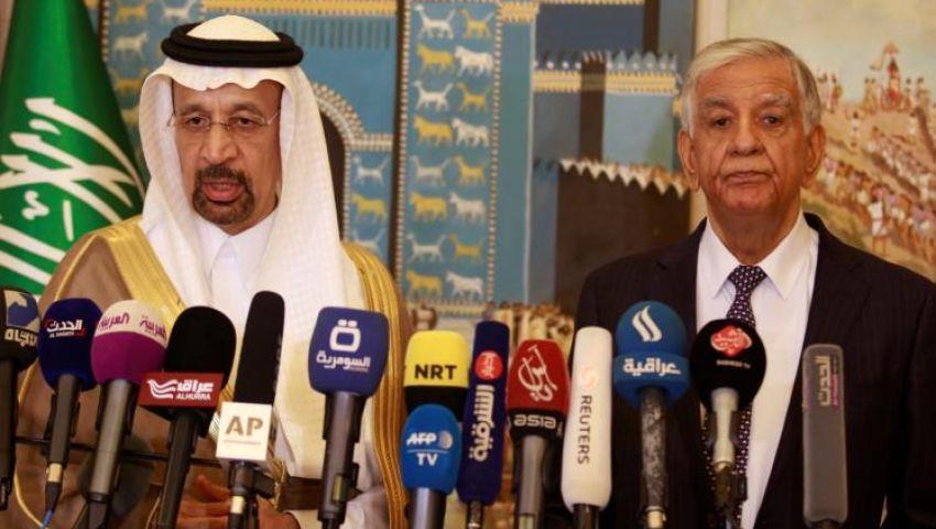 وزير النفط السعودي يصل بغداد